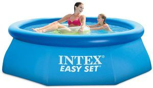 #7 Intex 8ft X 30in Pool Set