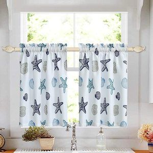 #8 Oremila Tier Curtains