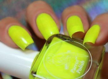 #8. Parrot Polish Pit Viper Yellow