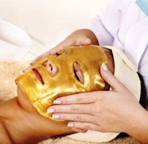 #8. Permotary 6 PCS Collagen Face Masks, 24k Gold Gel