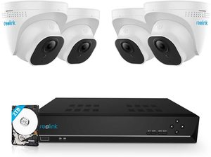 #8. Reolink 8Channel PoE Home Security Camera, 5MP