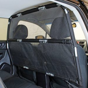#9 Bushwhacker - Deluxe Dog Barrier 50 Wide - Ideal for Smaller Cars