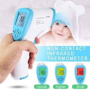 9 Fishoo Forehead Non-Contact Infrared Thermometer