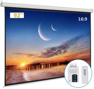 #9 Kshioe Motorized Projector Screen Without Dents