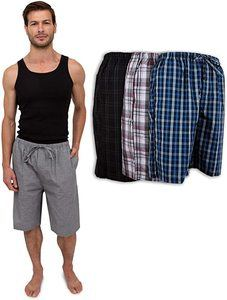 #9 Men's Soft Poplin Pajama And Sleep Jam Short