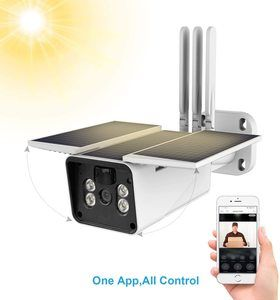 #9. FUVISION Solar Powered 1080P Wireless Outdoor Home Security Camera