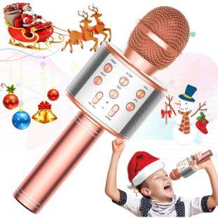 2. TRONICMASTER Wireless Karaoke Microphone Bluetooth