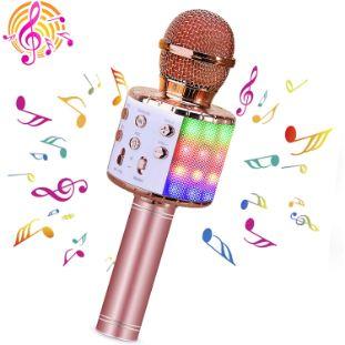 4. BlueFire Wireless 4 in 1 Bluetooth Karaoke Microphone