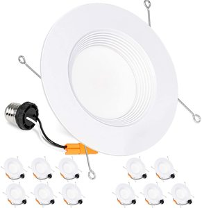 #6 Hykolity 5 6 Inch 12 Pack LED Recessed Downlight