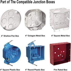#7 JULLISON 6 Inch 8 Packs LED Light