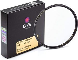 #1. B + W 67mm MRC Nano UV Protection Filter for Lens