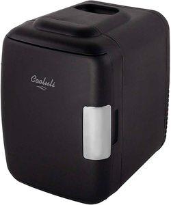 #1. Cooluli Classic Black Fridge