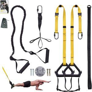 #10. Clothink Bodyweight Training Resistance Straps Kit
