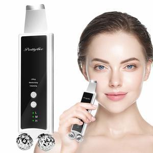 #10. Skin Scrubber, 2-in-1 Ultrasonic Face Massager Microcurrent