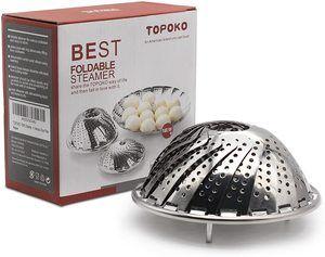 #10. TOPOKO Steamer Basket for Vegetables