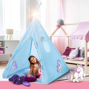#10. Teepee Tent for Boys and Girls, Unicorn Tepee Tent