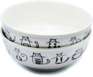 #2 Super Cute Cat Ceramic Bowl
