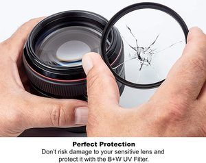 #2. B + W 77mm UV Protection Standard Mount (F-PRO)