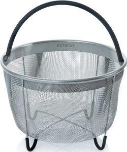 #2. Two-Pack Vegetable Steamer Basket (Large and Standard) Set