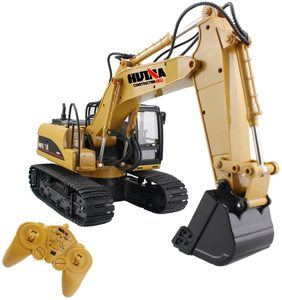 #3. Fisca Remote Control Excavator 15 Channel Full Function Construction
