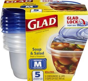 #4 GladWare Soup Container