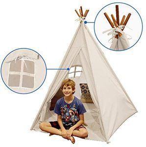 #4. EasyGoProducts Indoor-outdoor Teepee Tent