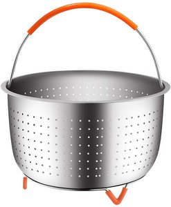 #4. House Again Sturdy 304 Stainless Steel Steamer Baskets