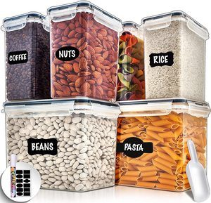 #5 Large Airtight Food Storage Containers