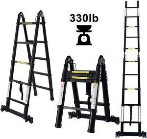 #5 charaHOME Aluminum Telescoping Ladder