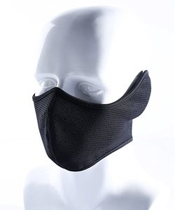 #5. Your Choice Earflap Black Half Face Mask Cycling Outdoor