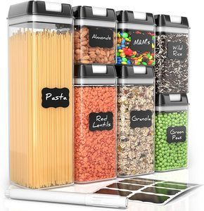 #6 Airtight Food Storage Containers