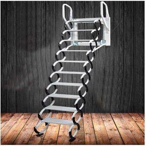 #6 Heavy-Duty Steel Metal Ladder