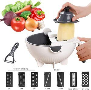 #6 Jeslon Multifunction Vegetable Cutter