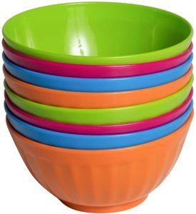 #6 Klickpick Home Plastic Bowls
