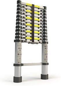 #7 Aluminum 12.5 FT Telescoping Ladder