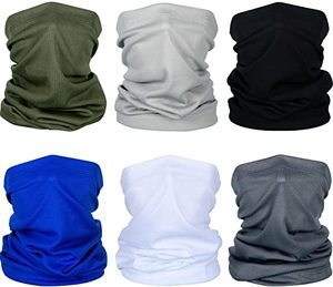 #7. Summer Face Cover UV Protection Neck Gaiter Scarf Sunscreen