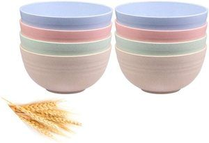 #8 Unbreakable Cereal Bowls
