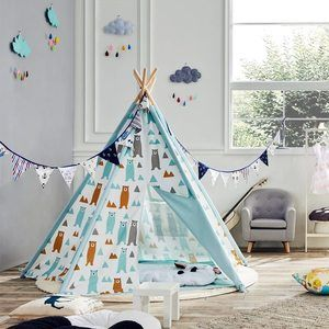 #8. ASWEETS Teepee Tent Cotton Canvas Teepee Tent