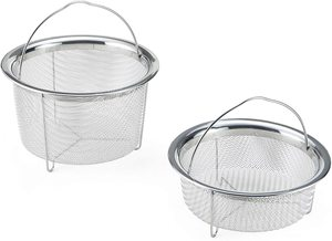 #8. Instant Pot Official Stainless Steel Mesh Steamer Baskets