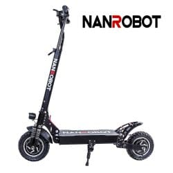 NANROBOT D4+High Speed Portable Electric Scooter with Seats
