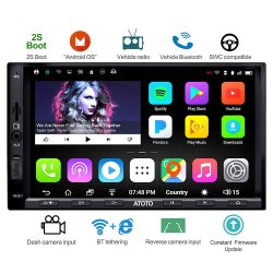 Atoto A6 Android Double Din Car Stereo