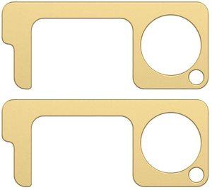 #1. EDC Hands-Free Door Opener 2pc Keys