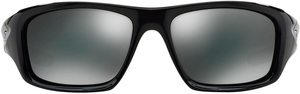 #1. Oakley Men's Valve Matte Black with Dark Bronze Sunglasses