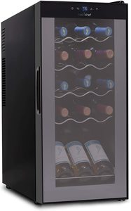 #1. PKCWC150 Wine Cooler Refrigerator with Mini Frame