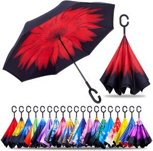 #10. Double Layer Upside Down Umbrella