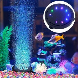 #2. Aquarium Air Stone Bubble Lamp