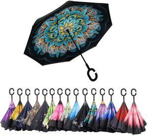 #4. Reverse Folding Upside Down Umbrella