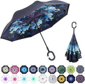 #5. Double Layer Upside Down Umbrella