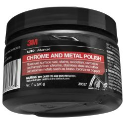 3M 39527 Chrome Polish for Motorcycle and Metal Polish