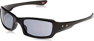 #6. Oakley Men's Fives Squared OO9238-07 Rectangular Sunglasses